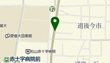 タイムズ道後今市の地図画像