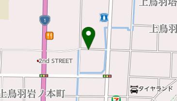 京都南インター北の地図画像
