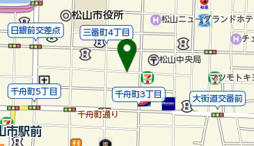 タイムズ松山三番町第3の地図画像