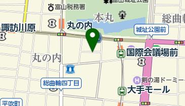 タイムズ富山国際会議場前の地図画像