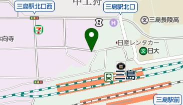 タイムズ三島駅新幹線口の地図画像