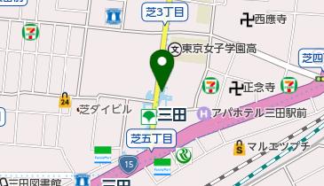 タイムズ三田NNビルの地図画像