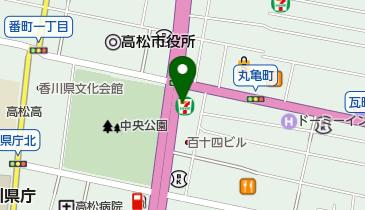 タイムズ高松亀井町の地図画像