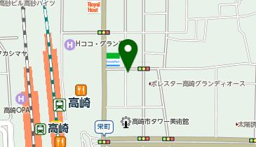 タイムズ高崎駅東口第6の地図画像