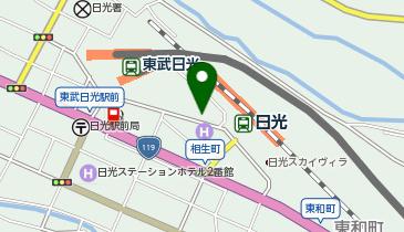 タイムズ日光駅前の地図画像