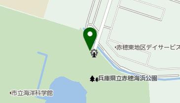 赤穂海浜公園 北駐車場の地図画像