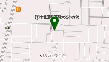 パークジャパン 仙台中倉第1駐車場の地図画像