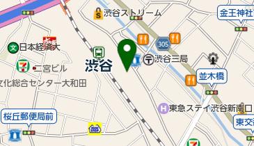 トラストパークホテルメッツ渋谷の地図画像