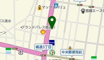 トラストパーク橘通東8の地図画像
