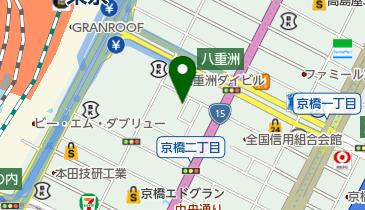 トラストパーク京橋1丁目第2の地図画像