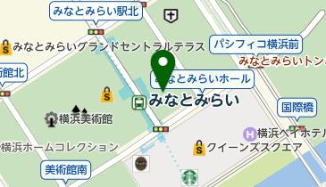 トラストパークみなとみらいセンタービル駐車場の地図画像
