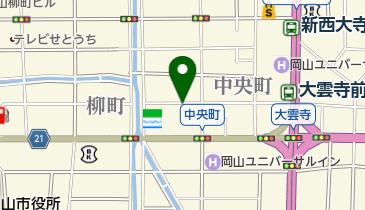リパーク岡山中央の地図画像