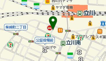 リパーク立川柴崎の地図画像