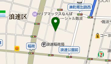 リパーク稲荷1丁目の地図画像