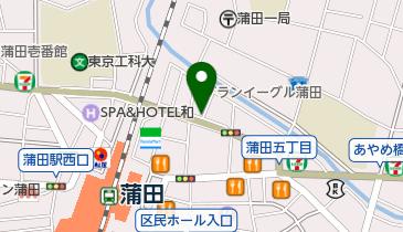 リパーク蒲田5丁目第3の地図画像