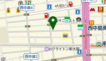 リパーク西中島4丁目の地図画像