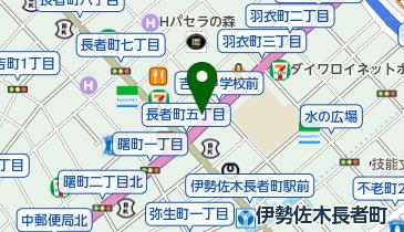 リパーク長者町6丁目の地図画像