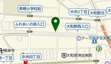 リパーク大和中央3丁目の地図画像