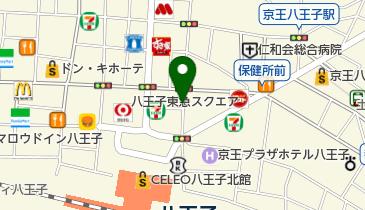 リパーク八王子駅北口前第2の地図画像