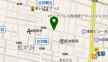 リパーク西浅草3丁目第2の地図画像