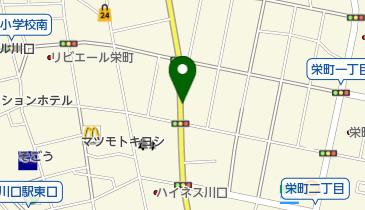 リパーク川口栄町2丁目の地図画像