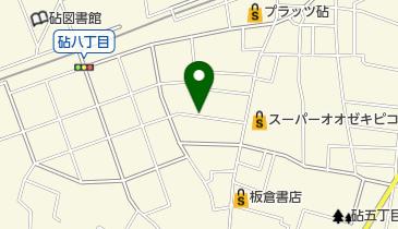リパーク砧8丁目の地図画像