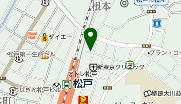 リパーク松戸駅東口の地図画像