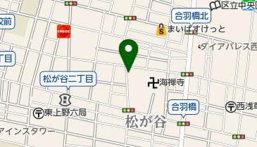 リパーク松が谷3丁目の地図画像