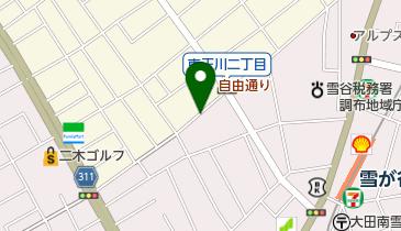 リパーク雪谷大塚町の地図画像