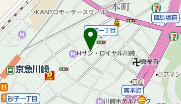 リパーク川崎本町第4の地図画像