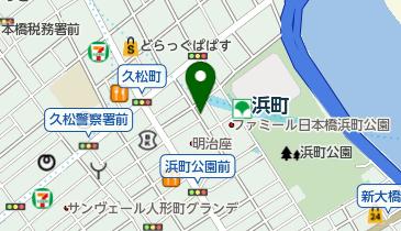 リパーク日本橋浜町2丁目第2の地図画像
