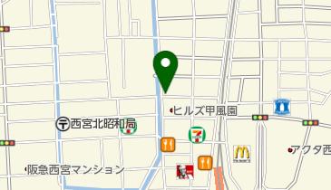 リパーク西宮北口の地図画像