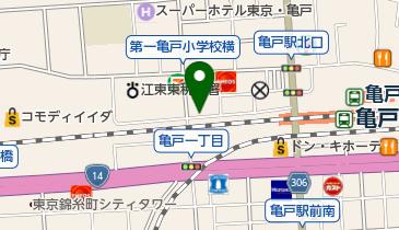 リパーク亀戸2丁目の地図画像
