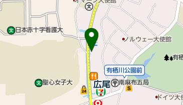 リパーク広尾駅前の地図画像
