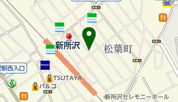 リパーク新所沢松葉町の地図画像