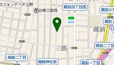 リパーク三筋1丁目の地図画像