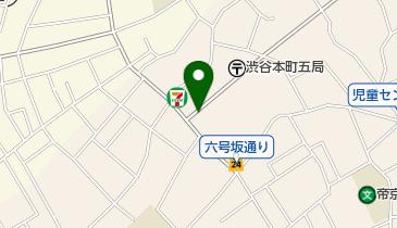 リパーク渋谷本町5丁目の地図画像