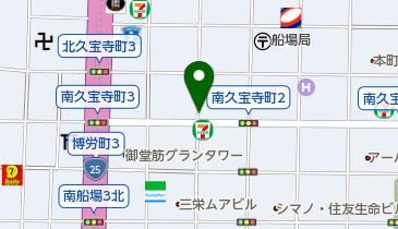 リパーク南久宝寺町3丁目の地図画像