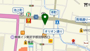 リパーク宇都宮池上町の地図画像