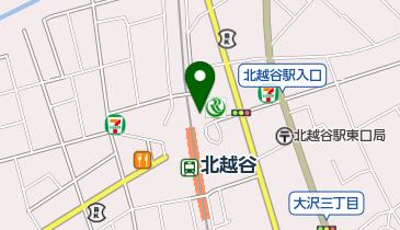 リパーク北越谷駅東口第2の地図画像