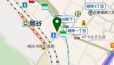 リパーク鶯谷駅前第2の地図画像