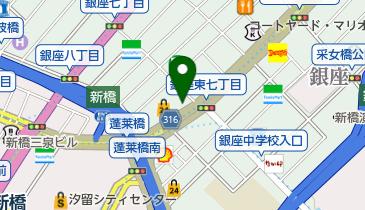 銀座三井ビルディングの地図画像