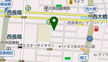 リパーク北堀江第3の地図画像