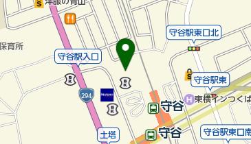 リパークワイド常陽守谷の地図画像