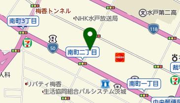 リパーク水戸南町の地図画像