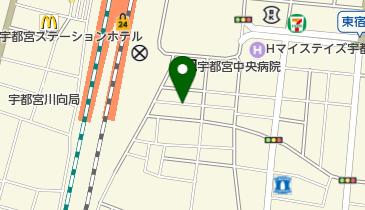 リパーク宇都宮駅東口第2の地図画像
