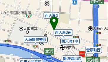 リパーク西天満3丁目第3の地図画像