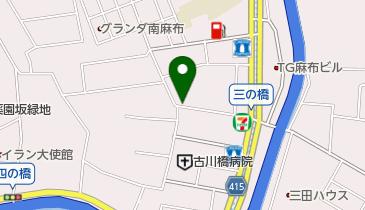 リパーク南麻布2丁目第4の地図画像