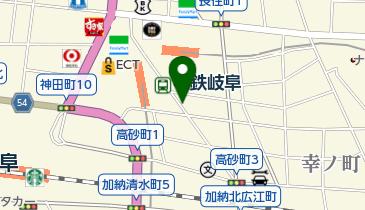 リパーク名鉄岐阜駅前第2の地図画像