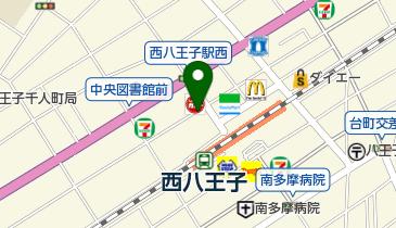 リパーク八王子千人町3丁目の地図画像